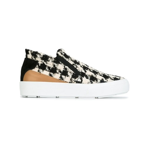 MSGM Houndstooth Pattern Sneakers