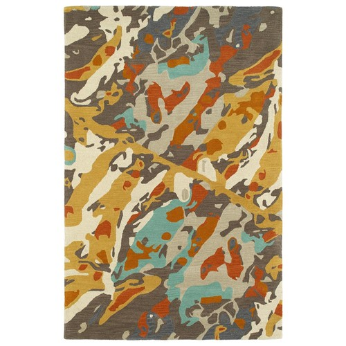 Kaleen Synthesis Multi 5 ft. x 7 ft. 9 in. Area Rug