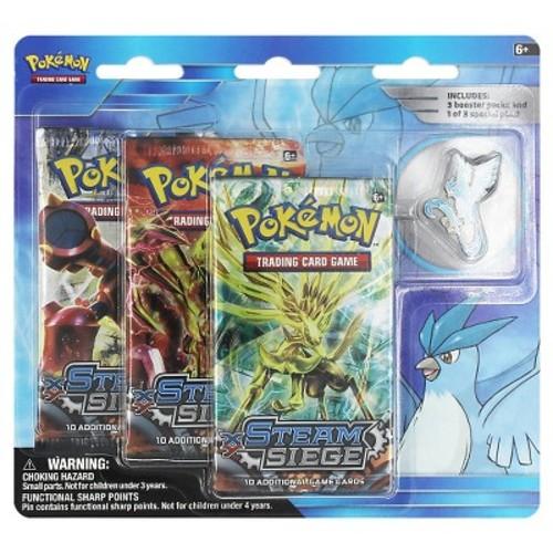 2016 Pokemon 3 Pk Pin Blister- Articuno Collectible Trading Cards