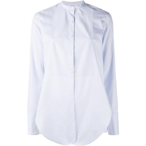 HELMUT LANG Striped Collarless Shirt