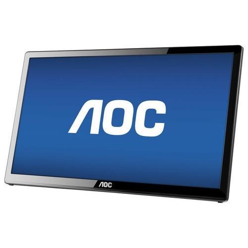AOC e1759Fwu 17-Inch Ultra Slim 1600x900 Res, 220cd/m2 Brightness USB 3.0-Powered Portable LED Monitor w/ Case [17 Inch]