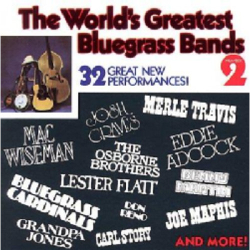 Various - Worlds Greatest Bluegrass Bands