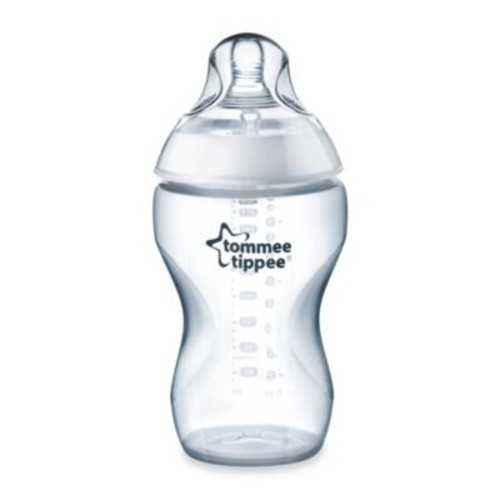 Tommee Tippee Closer to Nature 11-Ounce Added Cereal Clear Bottle