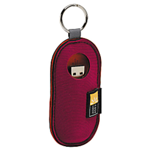 Case Logic USB Flash Drive Case, Color: Magenta. USB201-MAGENTA