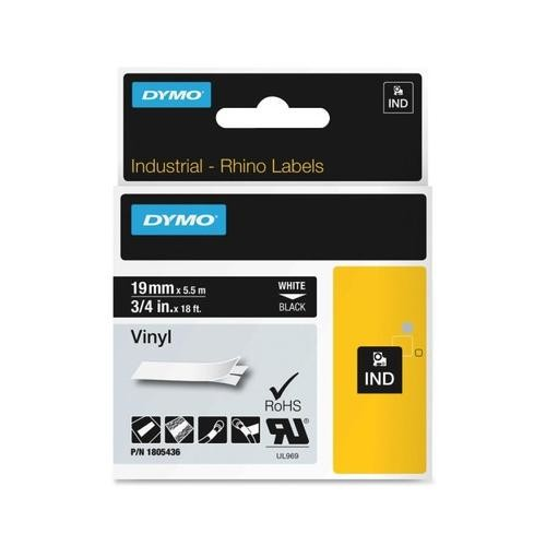 Dymo White on Black Color Coded Label DYM1805436