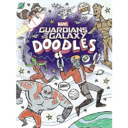 Marvel Guardians of the Galaxy Doodles Coloring and Activity Book
