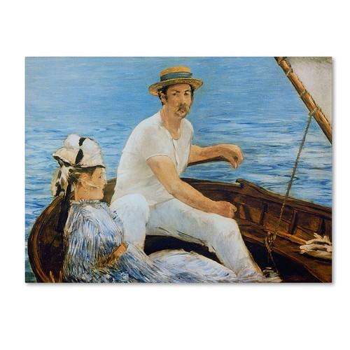 Trademark Fine Art 'Boating 1874' 35