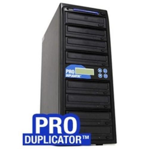 Produplicator 1-8 Target SATA 24x CD DVD External Burner Duplicator Plus 500GB HDD USB 2.0 Connection (PRDU411)