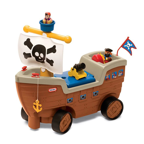 Little Tikes Play 'N Scoot Pirate Ship Playset