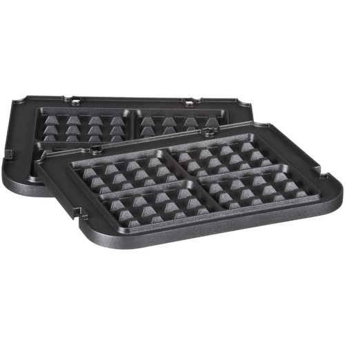 Cuisinart Waffle Plate for Cuisinart GN-4 Griddler Multifunctional Grill, Black
