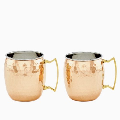 Dutch Copper Moscow Mule Mugs - Set of 2