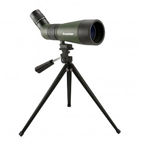 Celestron - LandScout 12-36 x 60 Compact Spotting Scope - Green