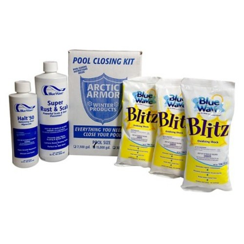 Blue Wave Chlorine Free Pool Winterizing Kit - Large to 30,000 Gallons