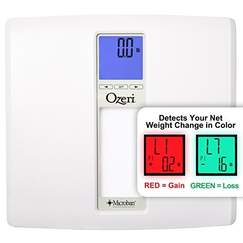 Ozeri ZB20 WeightMaster II 440 lbs Digital Bath Scale with BMI and Weight Change Detection, White [White]