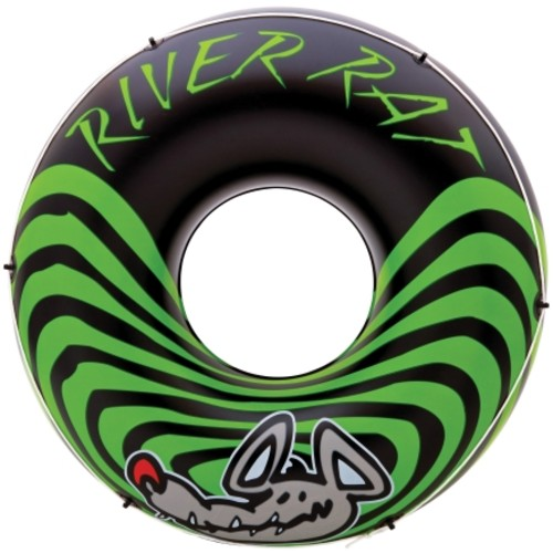 Intex River Rat Black/Green Vinyl Inflatable Tube(68209EP)