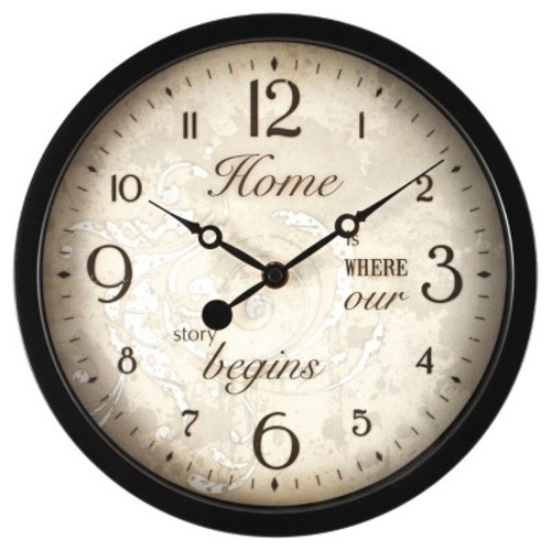 Sentiments Wall Clock