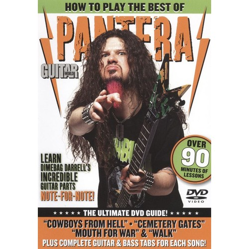 Guitar World: How to Play the Best of Pantera [DVD] [English] [2009]