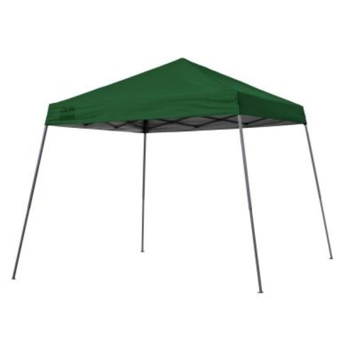 Quik Shade Expedition Team Colors 10 ft. x 10 ft. Slant Leg Instant Canopy in Green
