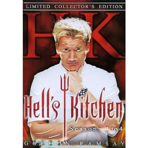 Hell's Kitchen: Seasons 1-4 [13 Discs] [DVD]