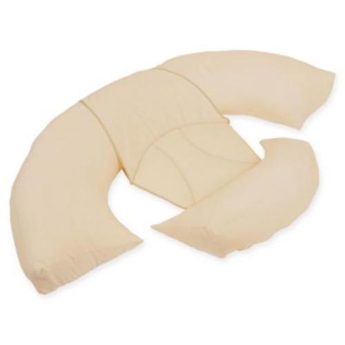 Leachco Body Bumper Countoured Body Pillow System in Khaki