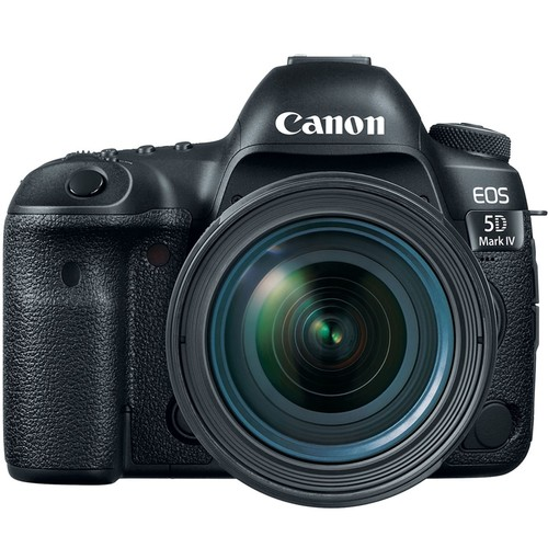 Canon EOS 5D Mark IV EF Camera w/ 24-70mm IS USM Kit