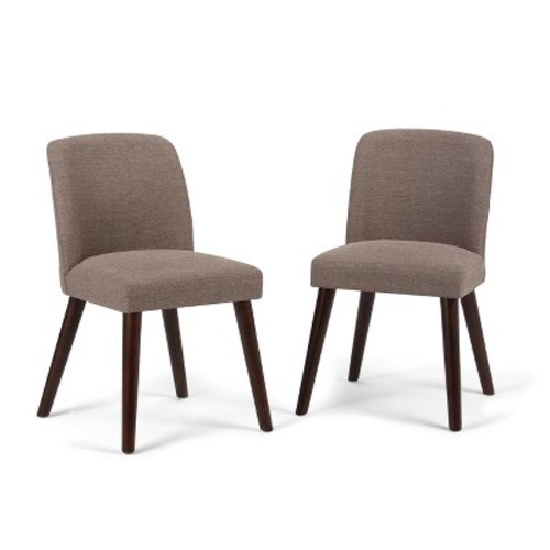 Emery Upholstered Dining Chair - Fawn Brown - Simpli Home