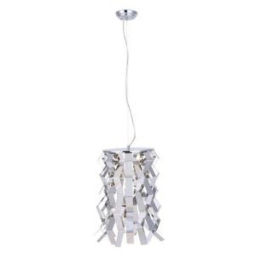 ZUO Fission 1-Light Chrome Ceiling Pendant