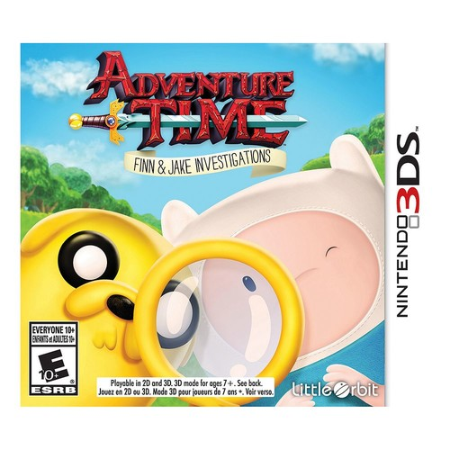 Adventure Time: Finn And Jake: Investigations Nintendo 3DS