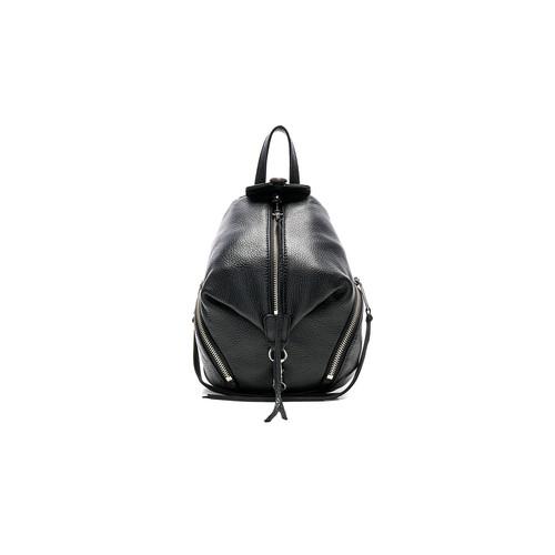 Rebecca Minkoff Convertible Mini Julian Backpack in Black