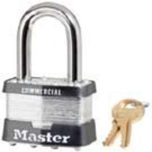 Master Lock 5DLF Laminated Steel Padlock, 2-Inch Wide Body, 1-1/2-Inch Shackle