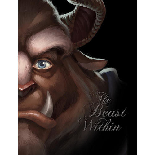 Disney Princess Beauty and the Beast: The Beast Within Book