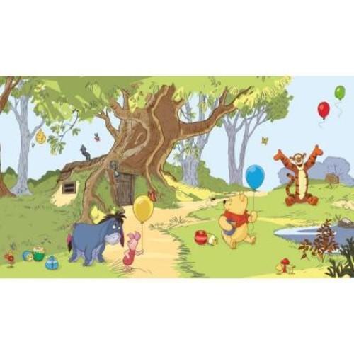 York Wallcoverings Walt Disney Kids II Pooh and Friends Mural Wallpaper