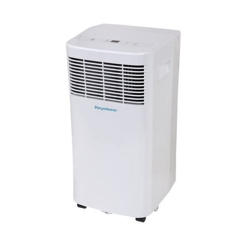 Keystone - 8,000 BTU Portable Air Conditioner - White
