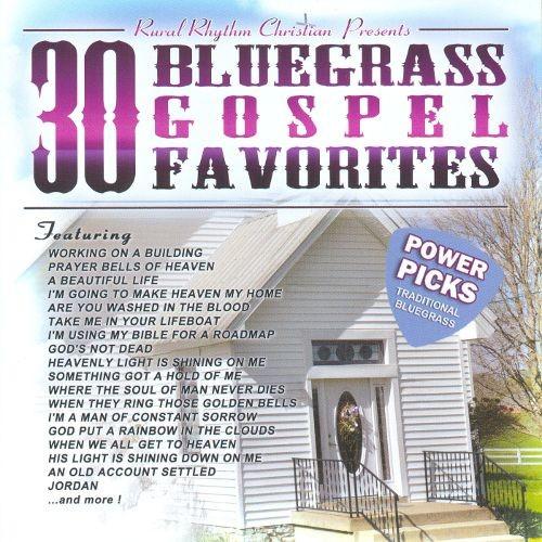 30 Bluegrass Gospel Favorites- Power Picks: Vintage Collection [CD]