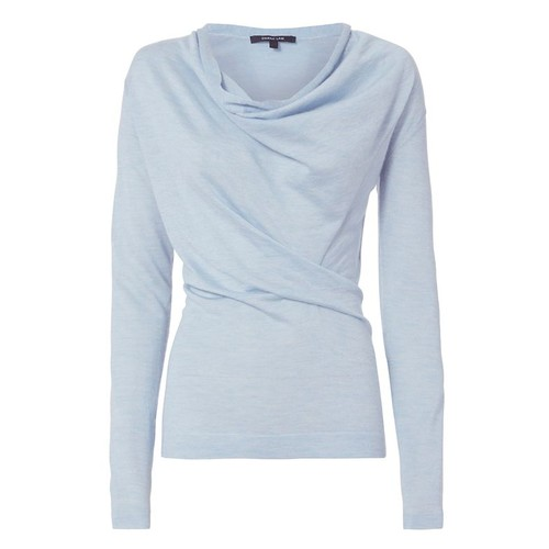 DEREK LAM Core Cowl Neck Sweater