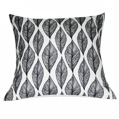 Leaf Throw Pillow - Loom and Mill