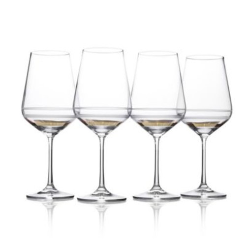 Mikasa Lux Goblets in Gold (Set of 4)