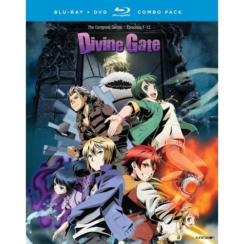 Divine Gate: The Complete Series [Blu-ray/DVD] [4 Discs]