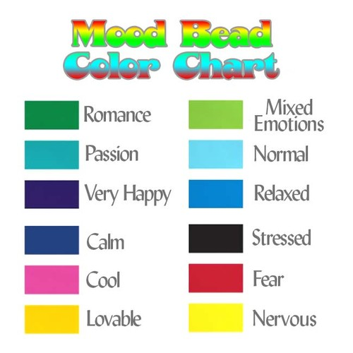 Mirage Color Changing Mood Beads - Radiant Rouge Design - 24mm Diameter (2)