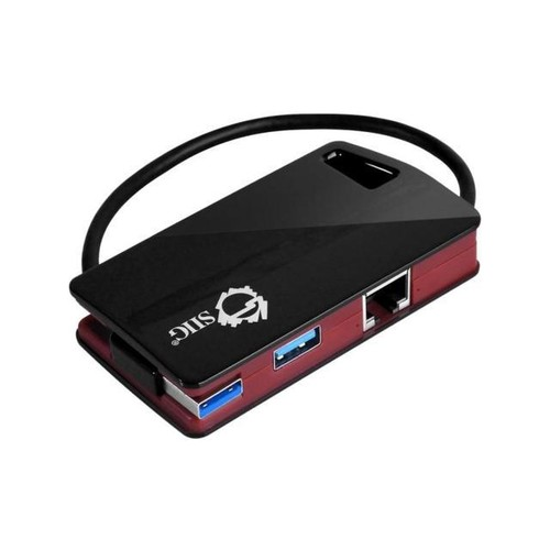SIIG SuperSpeed USB 3.0 LAN Hub