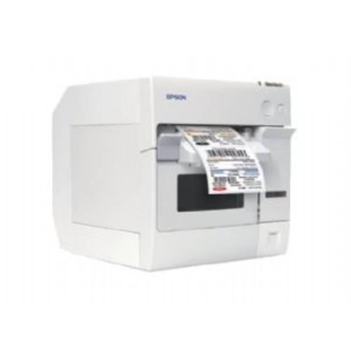 Epson TM C3400 SecurColor - Label printer - color - ink-jet - 4.4 in (width) - up to 222 inch/min - LAN (C31CA26031)