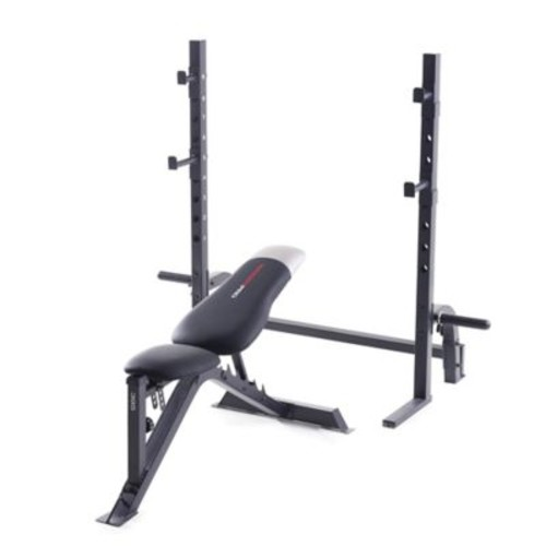 Weider Pro Olympic Weight Bench in Black