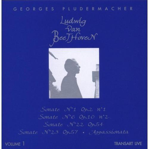 Ludwig van Beethoven, Vol. 1: Sonate No. 1; Sonate No. 6; Sonate No. 22; Sonate No. 23 [CD]
