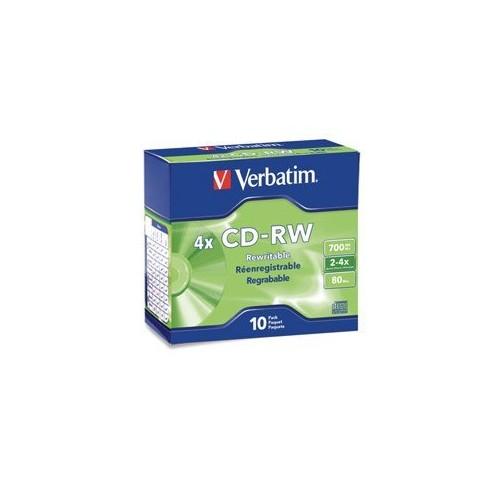 CD-RW Rewritable Discs [1-Pack]