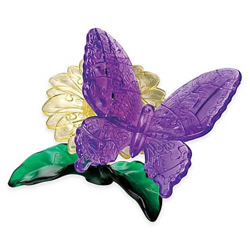 Butterfly 38-Piece Original 3D Crystal Puzzle