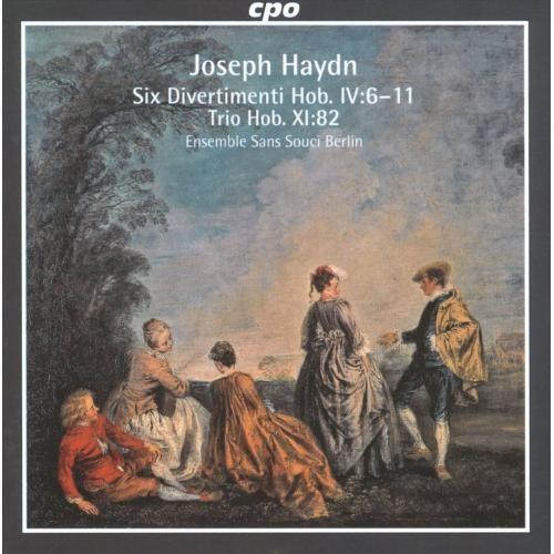 Haydn: Six Divertimenti [CD]