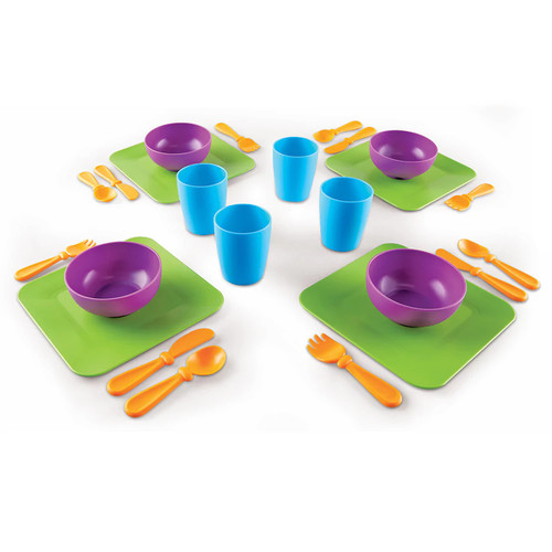 Sprouts Serve It! My Very Own Dish Set by Learning Resources