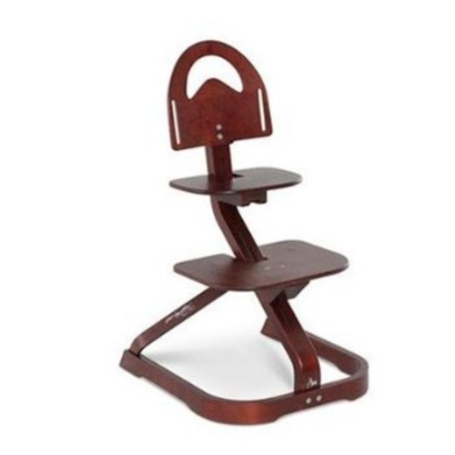 High Chair  Svan Signet Essential High Chair with Harness  Grows with your Child (Mahogany)