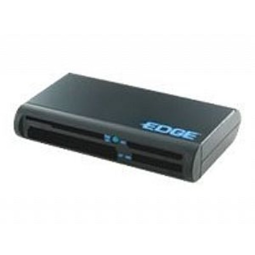 EDGE All-In-One Card Reader - Card reader - all-in-1 ( MS, MS PRO, Microdrive, SD, MS Duo, xD, MS PRO Duo, CF, RS-MMC, SDHC ) - USB 2.0