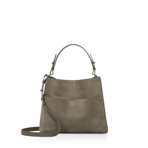 ALLSAINTS Cooper East/West Leather Shoulder Bag
